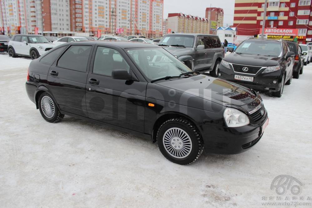 ВАЗ (Lada) Priora с пробегом, черный , отличное состояние, 2010 года выпуска, цена 250 000 руб. в автосалоне  ()
