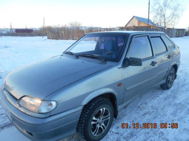 Подержанный ВАЗ (Lada) 2114, хорошее состояние, серебряный , 2009 года выпуска, цена 150 000 руб. в Челябинской области