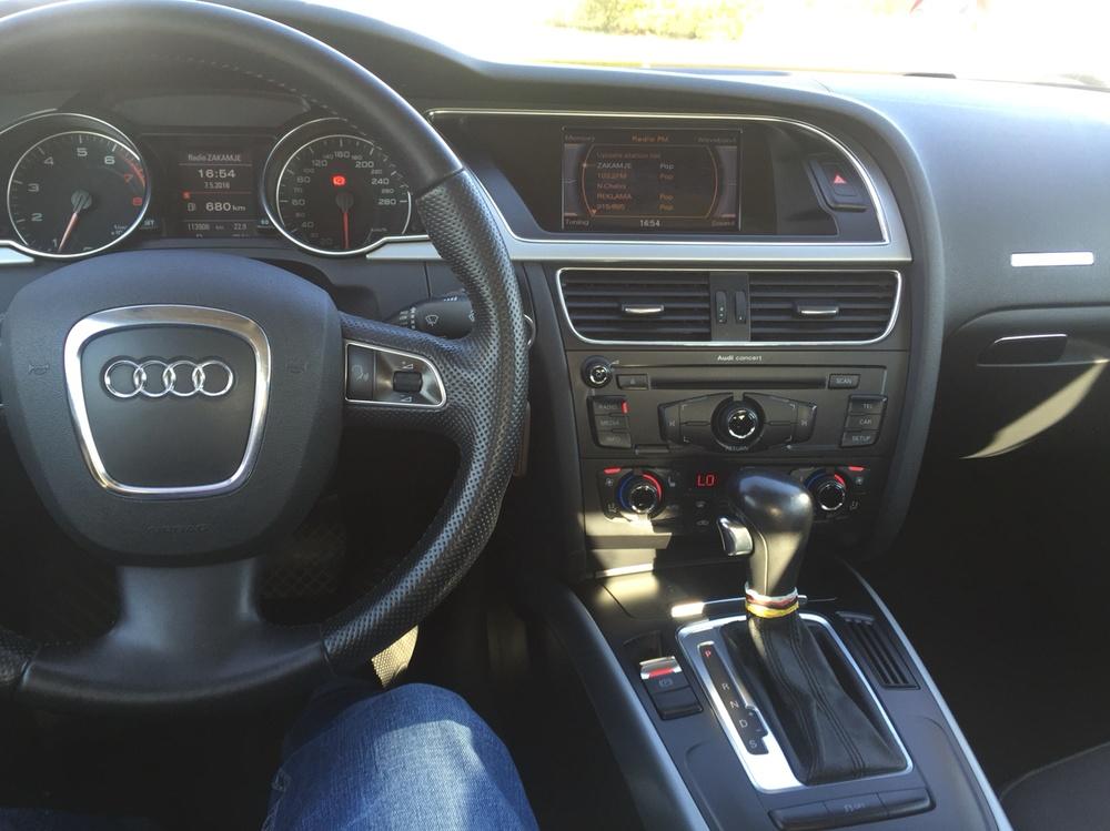 Подержанный Audi A5, отличное состояние, белый , 2011 года выпуска, цена 800 000 руб. в республике Татарстане