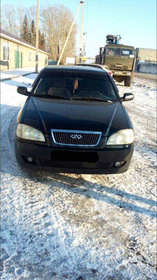 Подержанный Chery Amulet, отличное состояние, черный , 2008 года выпуска, цена 140 000 руб. в республике Татарстане