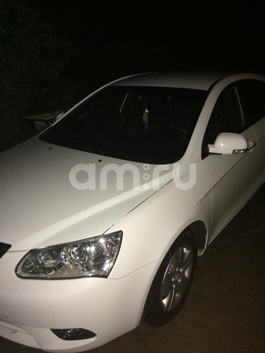 Подержанный Geely Emgrand, отличное состояние, белый , 2013 года выпуска, цена 420 000 руб. в республике Татарстане