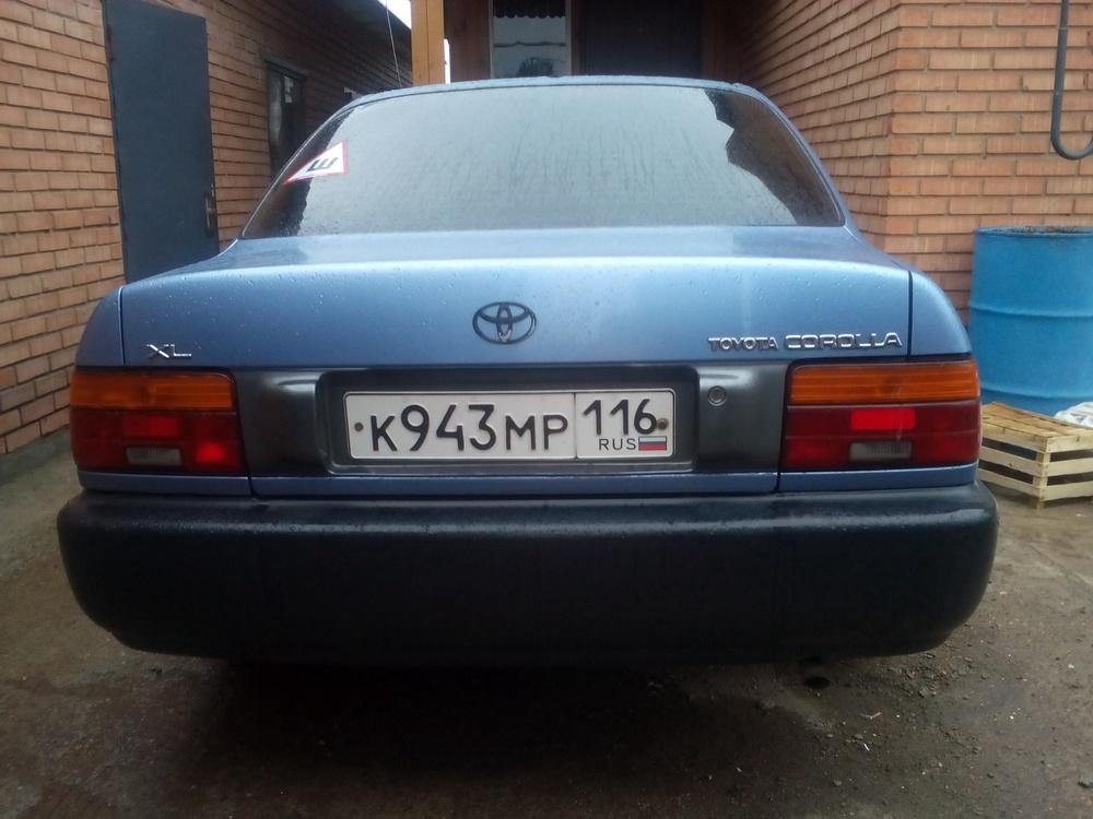 Подержанный Toyota Corolla, отличное состояние, голубой , 1996 года выпуска, цена 120 000 руб. в республике Татарстане