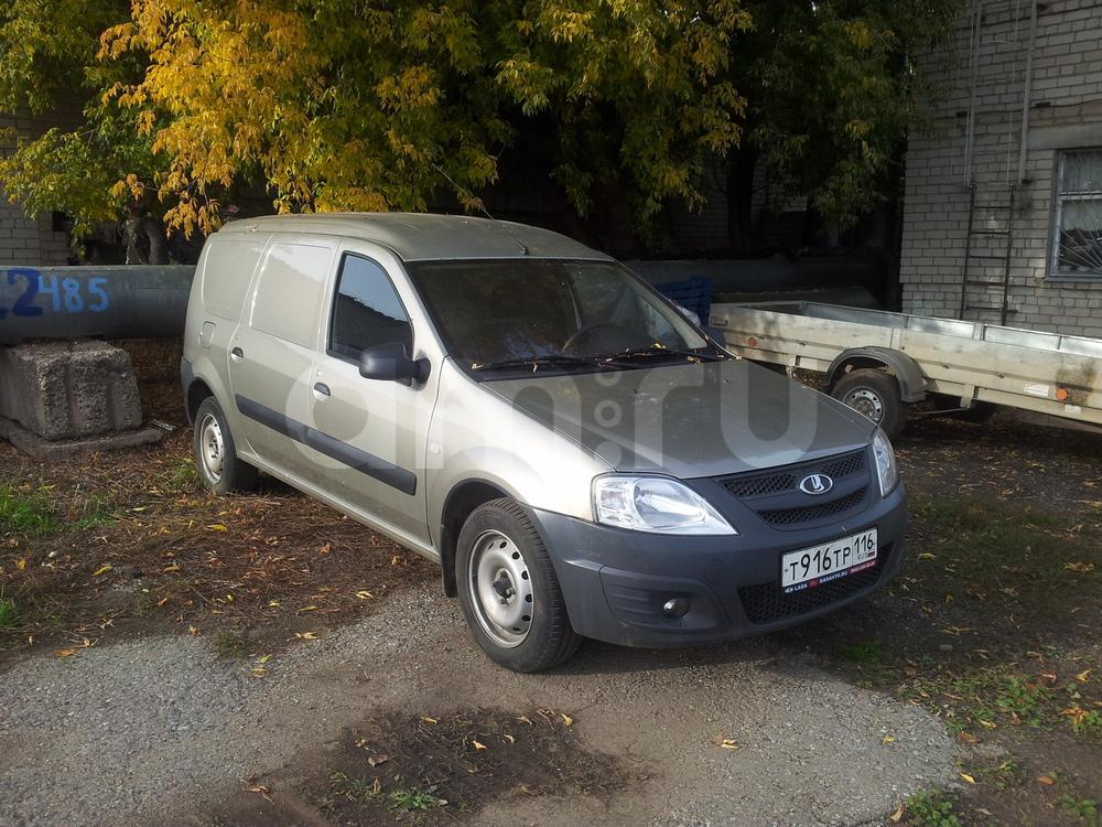Подержанный ВАЗ (Lada) Largus, отличное состояние, бронзовый , 2014 года выпуска, цена 390 000 руб. в республике Татарстане