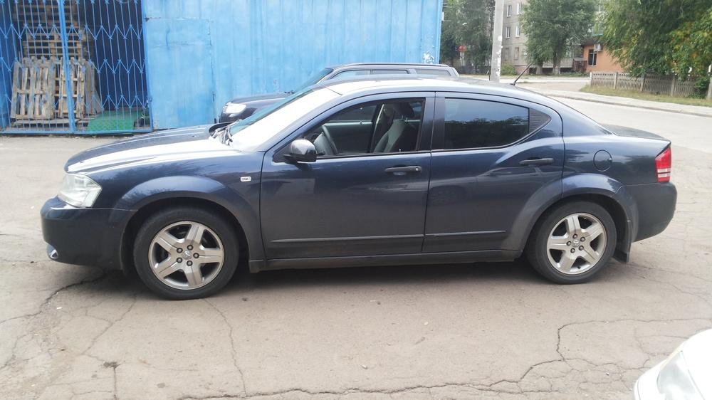 Подержанный Dodge Avenger, отличное состояние, синий металлик, 2007 года выпуска, цена 470 000 руб. в Челябинской области