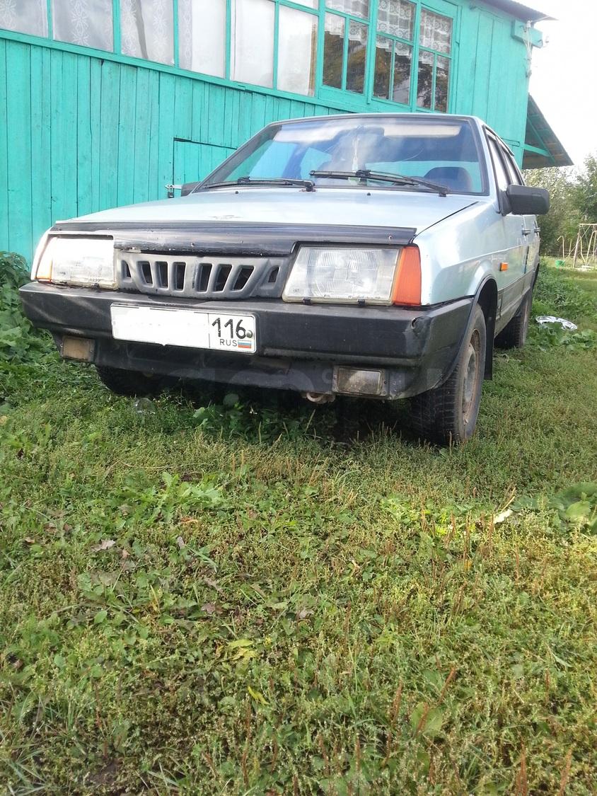 Подержанный ВАЗ (Lada) 2109, среднее состояние, серый , 2001 года выпуска, цена 35 000 руб. в республике Татарстане
