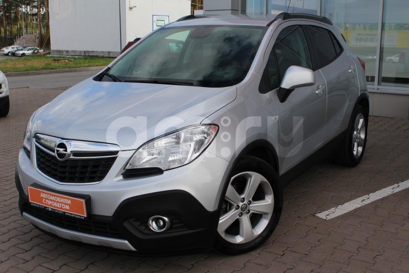 Opel Mokka с пробегом, серебряный , отличное состояние, 2012 года выпуска, цена 665 000 руб. в автосалоне  ()