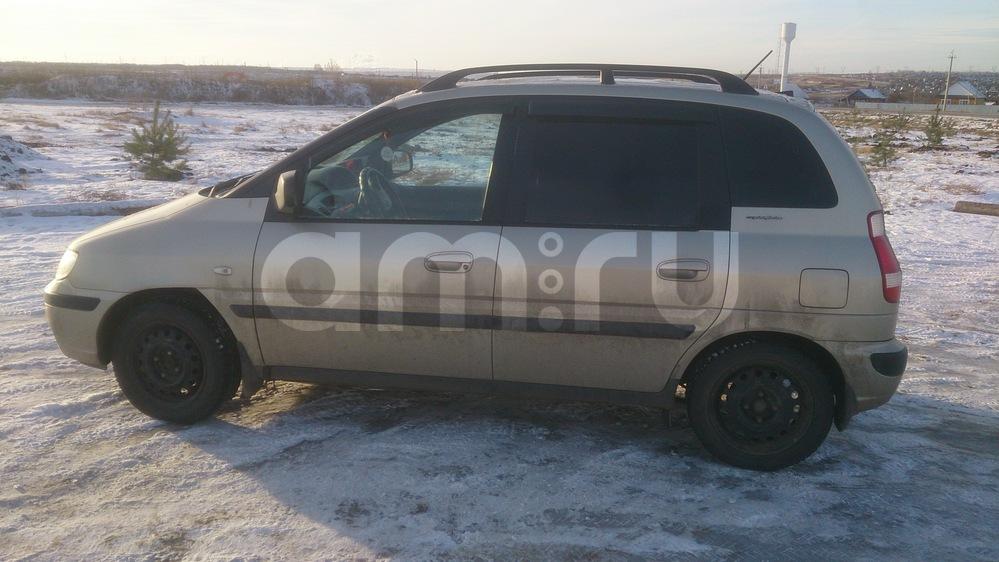 Подержанный Hyundai Matrix, хорошее состояние, золотой , 2007 года выпуска, цена 385 000 руб. в республике Татарстане