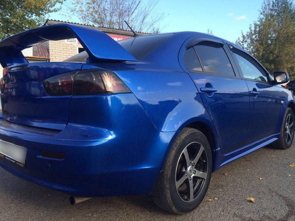 Подержанный Mitsubishi Lancer, отличное состояние, синий , 2011 года выпуска, цена 435 000 руб. в республике Татарстане