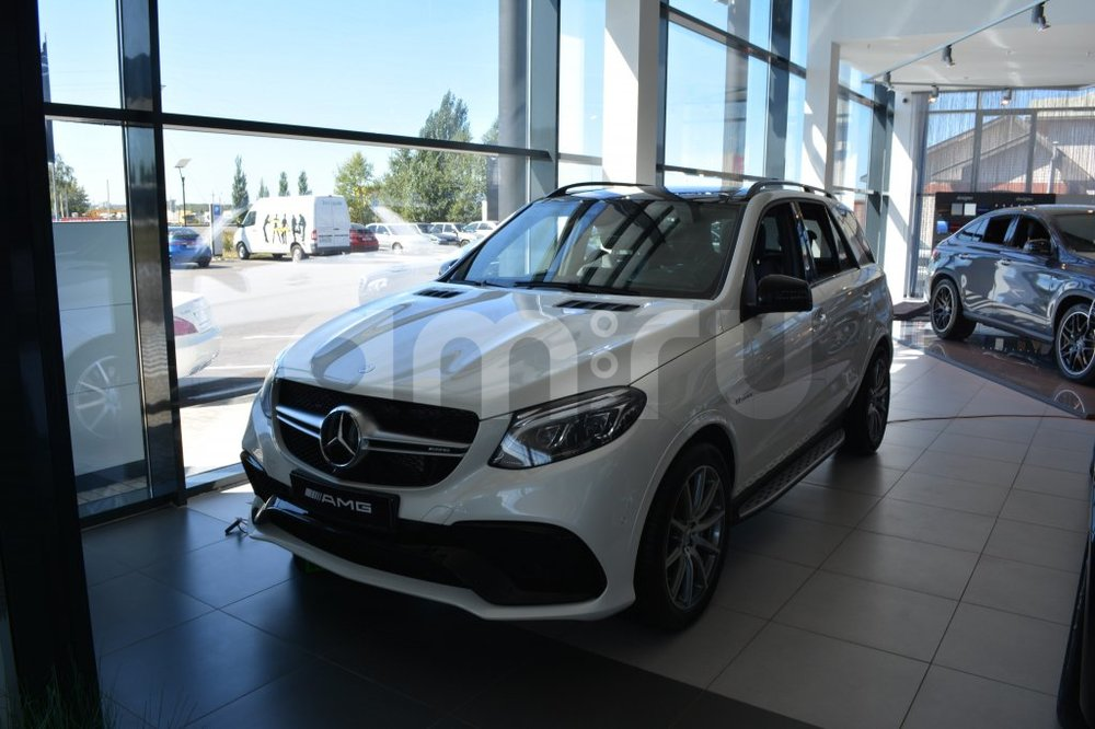 Новый авто Mercedes-Benz GLE-Класс, белый металлик, 2016 года выпуска, цена 7 350 000 руб. в автосалоне МБ-Орловка (Набережные Челны, тракт Мензелинский, д. 24)