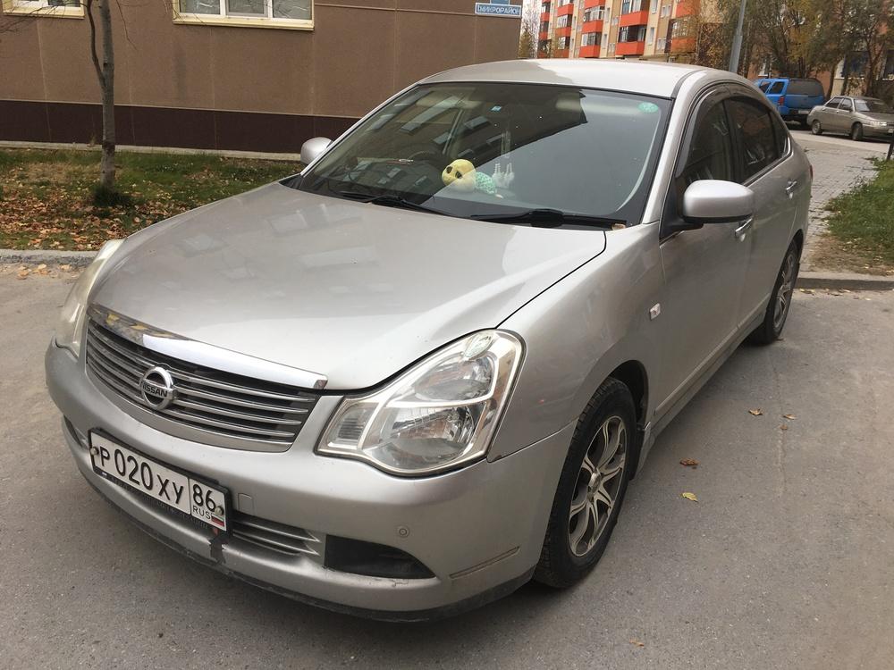 Подержанный Nissan Bluebird Sylphy, хорошее состояние, серый , 2007 года выпуска, цена 310 000 руб. в ао. Ханты-Мансийском Автономном округе - Югре