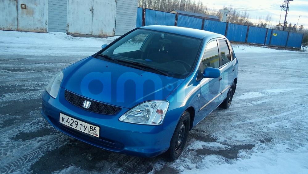 Подержанный Honda Civic, хорошее состояние, синий , 2003 года выпуска, цена 250 000 руб. в ао. Ханты-Мансийском Автономном округе - Югре