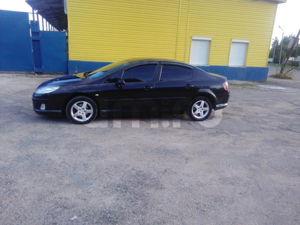 Подержанный Peugeot 407, хорошее состояние, черный , 2005 года выпуска, цена 320 000 руб. в Смоленской области