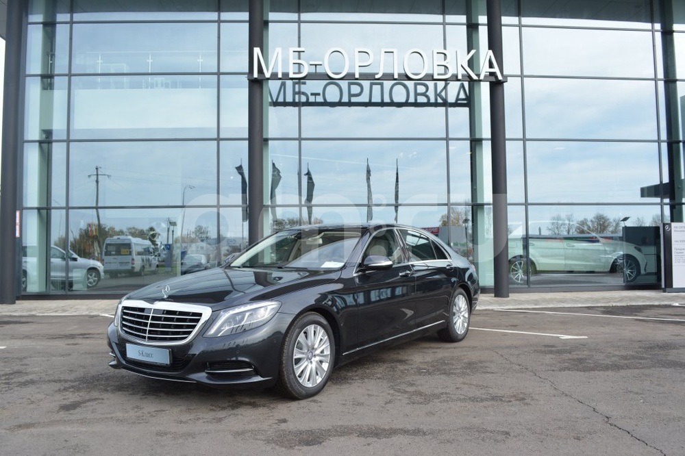 Новый авто Mercedes-Benz S-Класс, черный металлик, 2016 года выпуска, цена 7 194 394 руб. в автосалоне МБ-Орловка (Набережные Челны, тракт Мензелинский, д. 24)