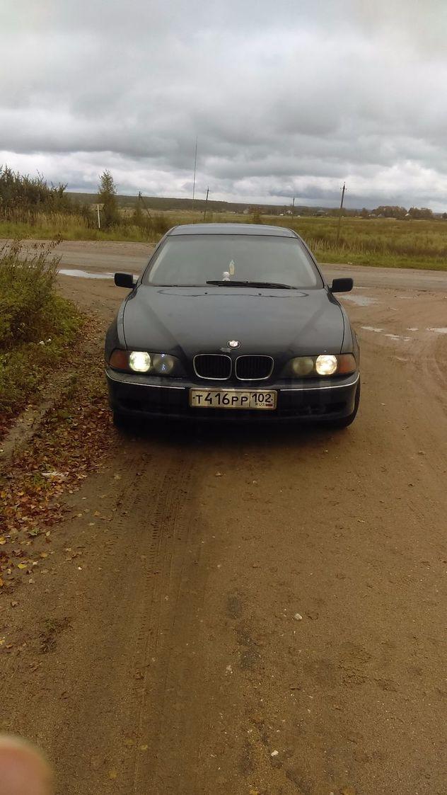 Подержанный BMW 5 серия, хорошее состояние, синий , 1998 года выпуска, цена 180 000 руб. в Смоленской области