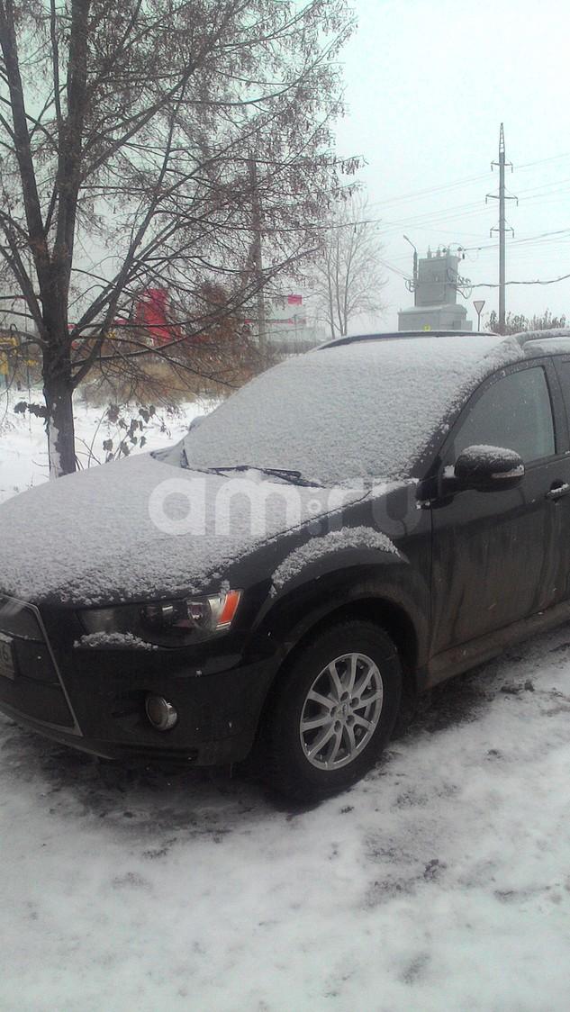 Подержанный Mitsubishi Outlander, отличное состояние, черный металлик, 2011 года выпуска, цена 745 000 руб. в республике Татарстане