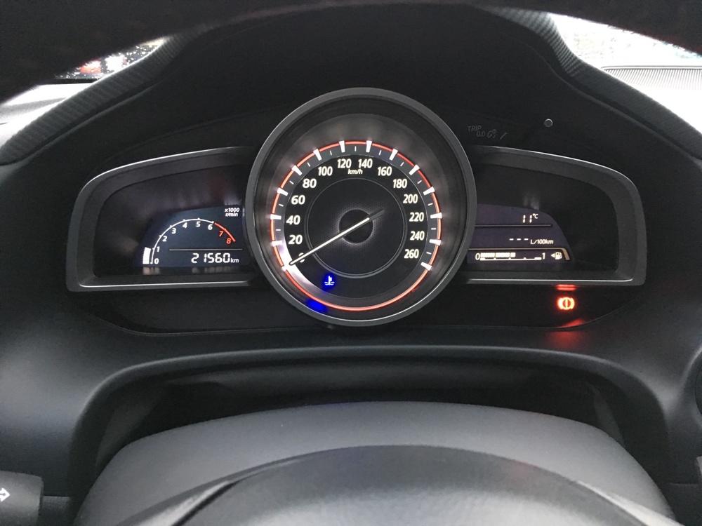 Подержанный Mazda 3, отличное состояние, коричневый , 2014 года выпуска, цена 820 000 руб. в республике Татарстане