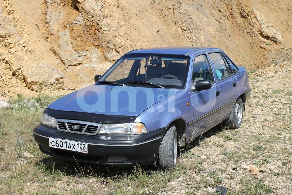 Подержанный Daewoo Nexia, хорошее состояние, голубой перламутр, 2006 года выпуска, цена 117 000 руб. в Челябинской области