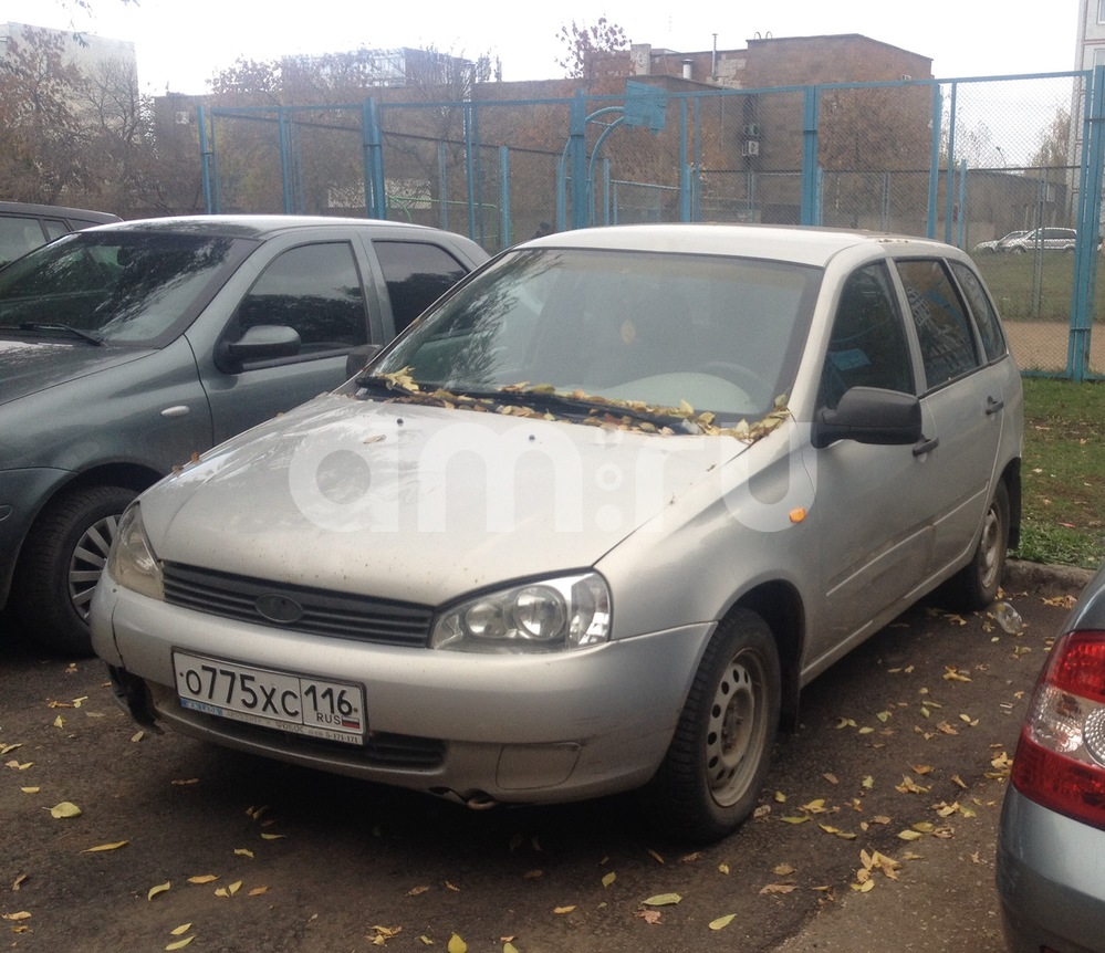 Подержанный ВАЗ (Lada) Kalina, среднее состояние, бежевый , 2009 года выпуска, цена 110 000 руб. в республике Татарстане
