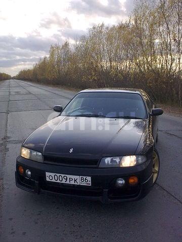 Подержанный Nissan Skyline, среднее состояние, черный , 1985 года выпуска, цена 280 000 руб. в ао. Ханты-Мансийском Автономном округе - Югре