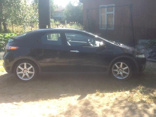 Подержанный Honda Civic, хорошее состояние, черный , 2007 года выпуска, цена 380 000 руб. в ао. Ханты-Мансийском Автономном округе - Югре