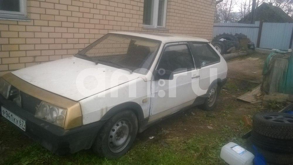 Подержанный ВАЗ (Lada) 2108, среднее состояние, белый , 1991 года выпуска, цена 25 000 руб. в Смоленской области