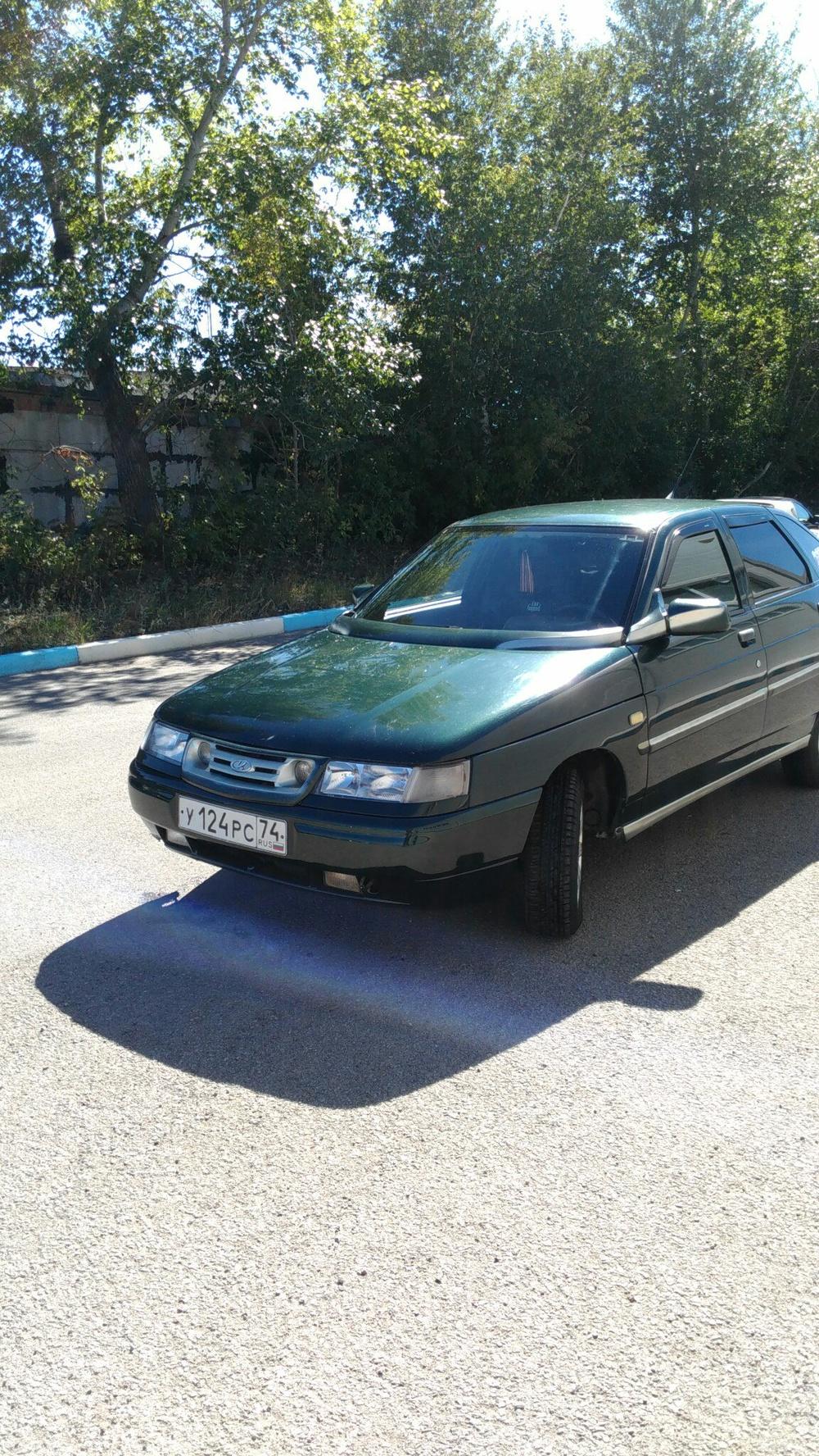 Подержанный ВАЗ (Lada) 2112, отличное состояние, зеленый металлик, 2005 года выпуска, цена 134 000 руб. в Челябинской области