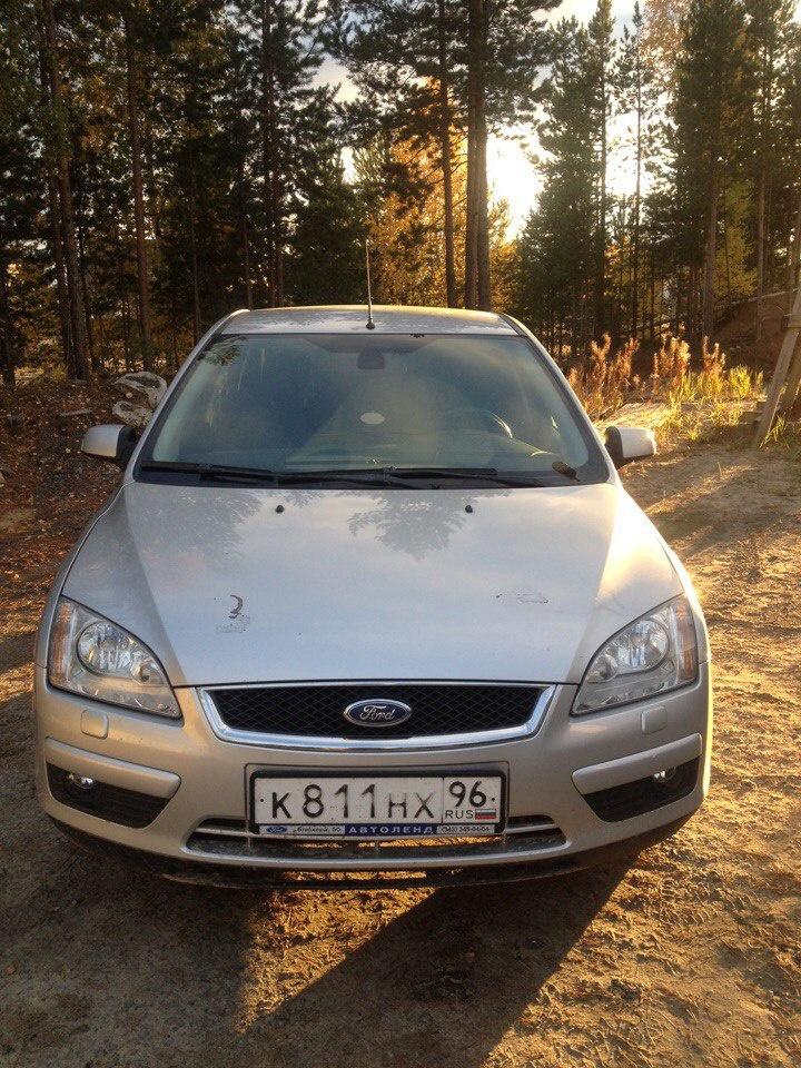 Подержанный Ford Focus, среднее состояние, серебряный , 2007 года выпуска, цена 285 000 руб. в ао. Ханты-Мансийском Автономном округе - Югре