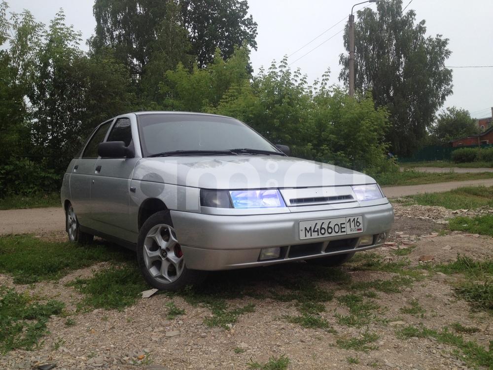 Подержанный ВАЗ (Lada) 2112, отличное состояние, серебряный металлик, 2007 года выпуска, цена 165 000 руб. в республике Татарстане