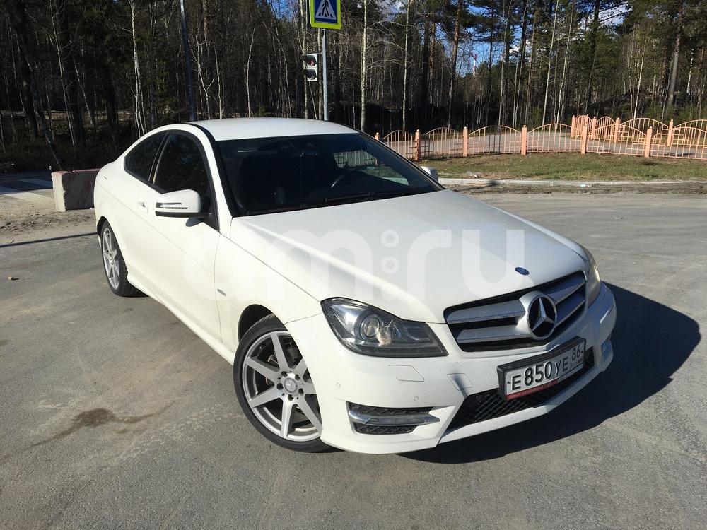 Подержанный Mercedes-Benz C-Класс, отличное состояние, белый , 2012 года выпуска, цена 1 200 000 руб. в ао. Ханты-Мансийском Автономном округе - Югре
