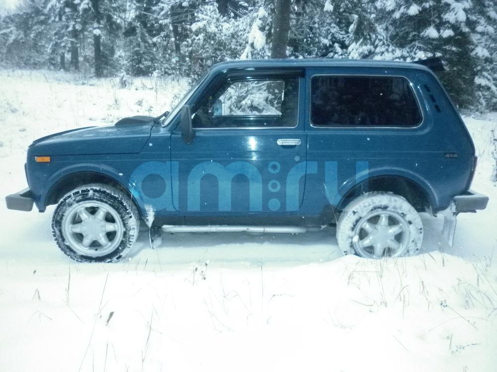 Подержанный ВАЗ (Lada) 4x4, хорошее состояние, синий , 2007 года выпуска, цена 177 000 руб. в Челябинской области