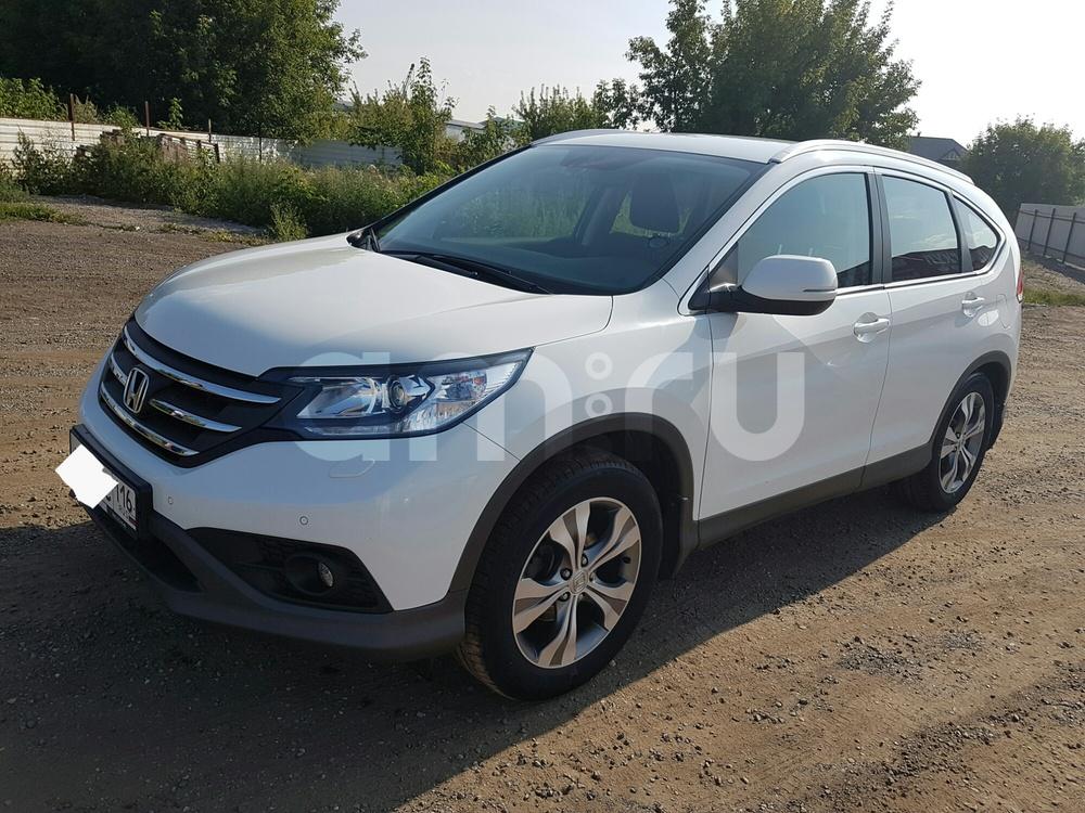 Подержанный Honda CR-V, отличное состояние, белый перламутр, 2013 года выпуска, цена 1 220 000 руб. в республике Татарстане
