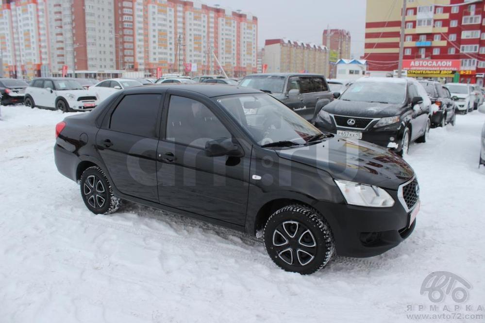 Datsun on-DO с пробегом, черный , отличное состояние, 2015 года выпуска, цена 370 000 руб. в автосалоне  ()