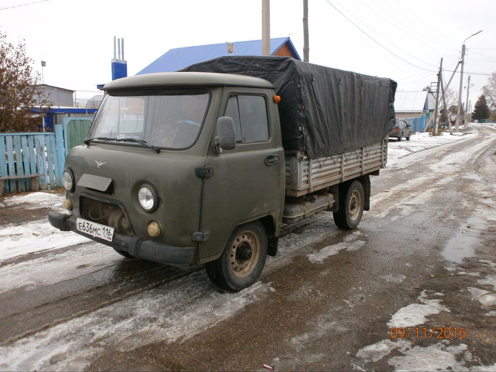 Подержанный УАЗ 3303, хорошее состояние, зеленый , 2007 года выпуска, цена 210 000 руб. в республике Татарстане