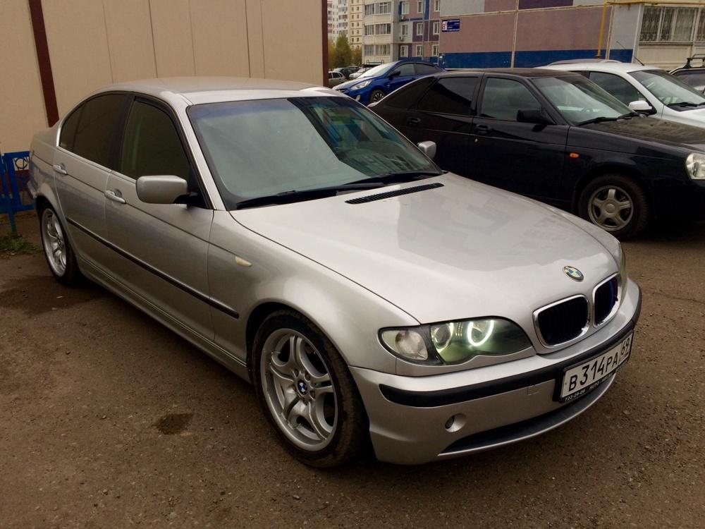 Подержанный BMW 3 серия, отличное состояние, серебряный металлик, 2004 года выпуска, цена 399 000 руб. в республике Татарстане