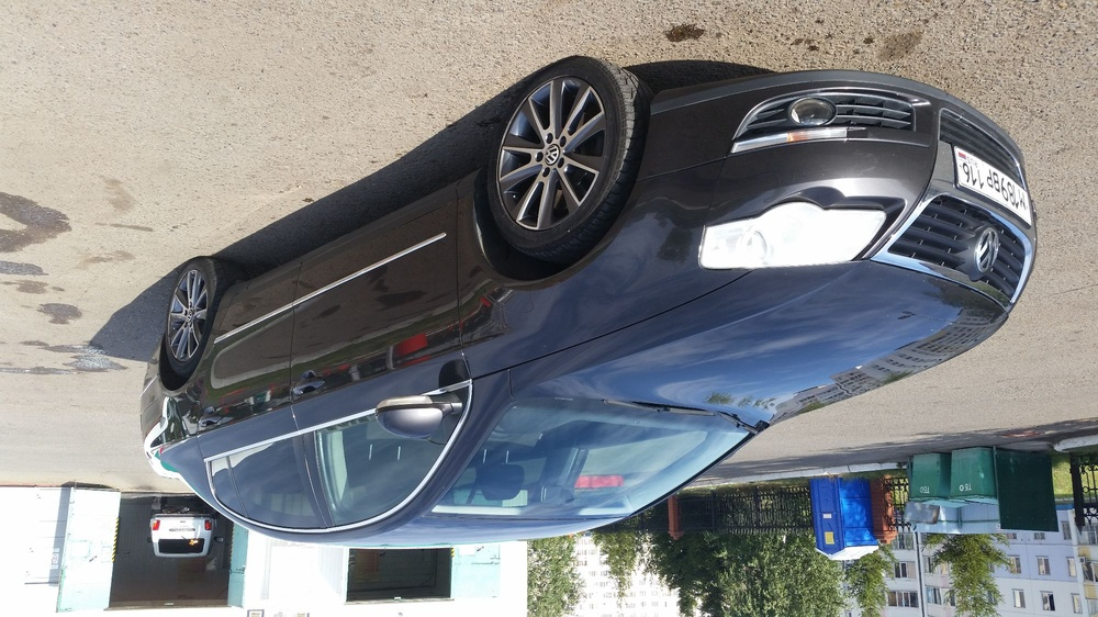 Подержанный Volkswagen Passat, отличное состояние, коричневый , 2008 года выпуска, цена 410 000 руб. в республике Татарстане