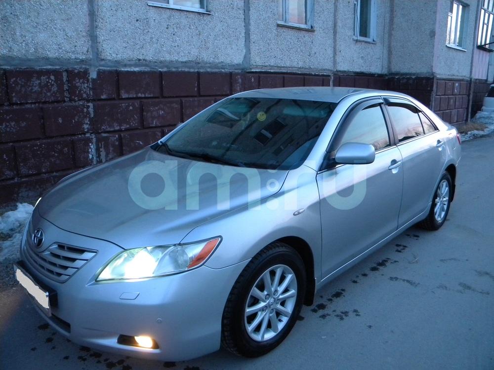 Подержанный Toyota Camry, хорошее состояние, серебряный , 2007 года выпуска, цена 630 000 руб. в ао. Ханты-Мансийском Автономном округе - Югре