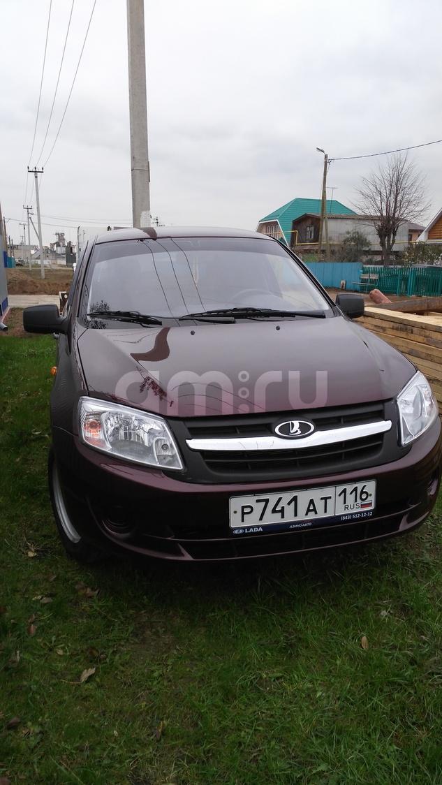 Подержанный ВАЗ (Lada) Granta, отличное состояние, бордовый , 2012 года выпуска, цена 237 000 руб. в республике Татарстане