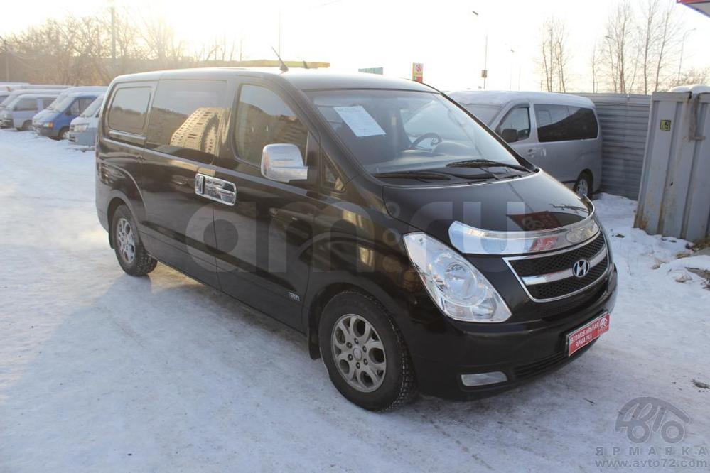 Hyundai H-1 с пробегом, черный , хорошее состояние, 2009 года выпуска, цена 721 000 руб. в автосалоне  ()