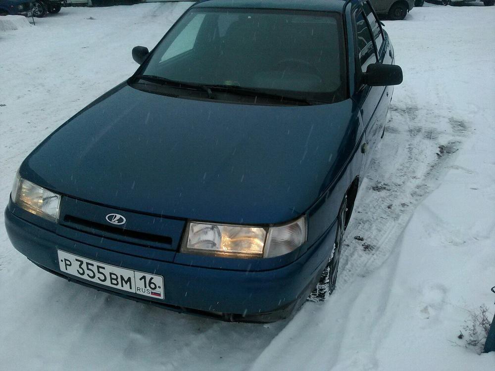 Подержанный ВАЗ (Lada) 2110, хорошее состояние, синий , 2004 года выпуска, цена 110 000 руб. в республике Татарстане