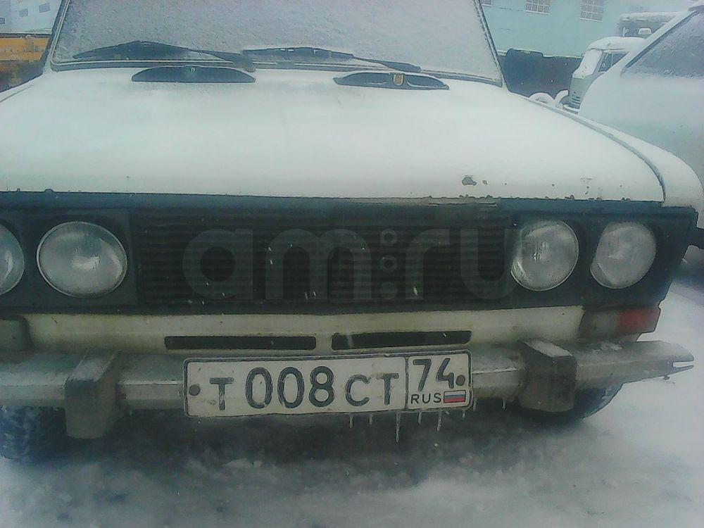 Подержанный ВАЗ (Lada) 2106, среднее состояние, белый , 1997 года выпуска, цена 40 000 руб. в Челябинской области