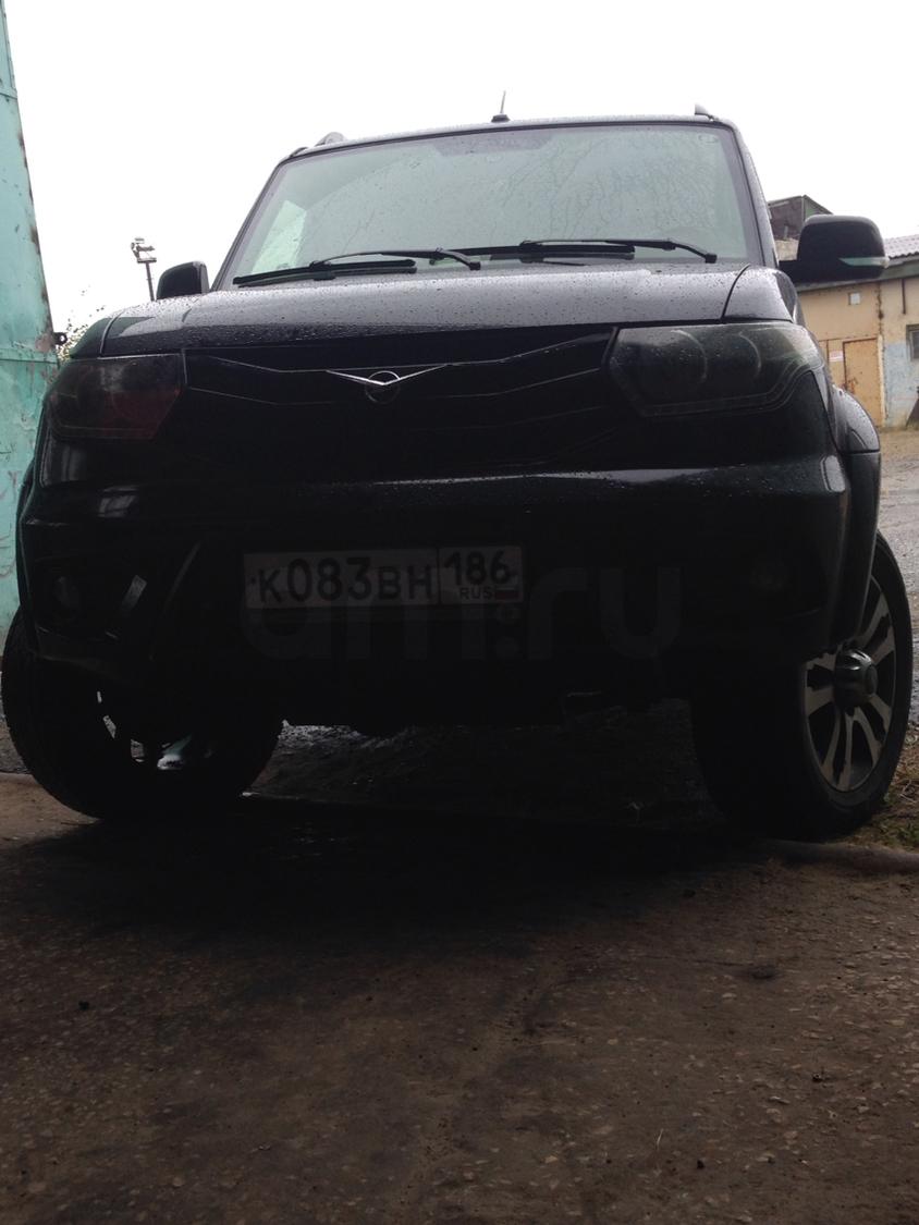 Подержанный УАЗ Patriot, отличное состояние, черный , 2015 года выпуска, цена 850 000 руб. в ао. Ханты-Мансийском Автономном округе - Югре