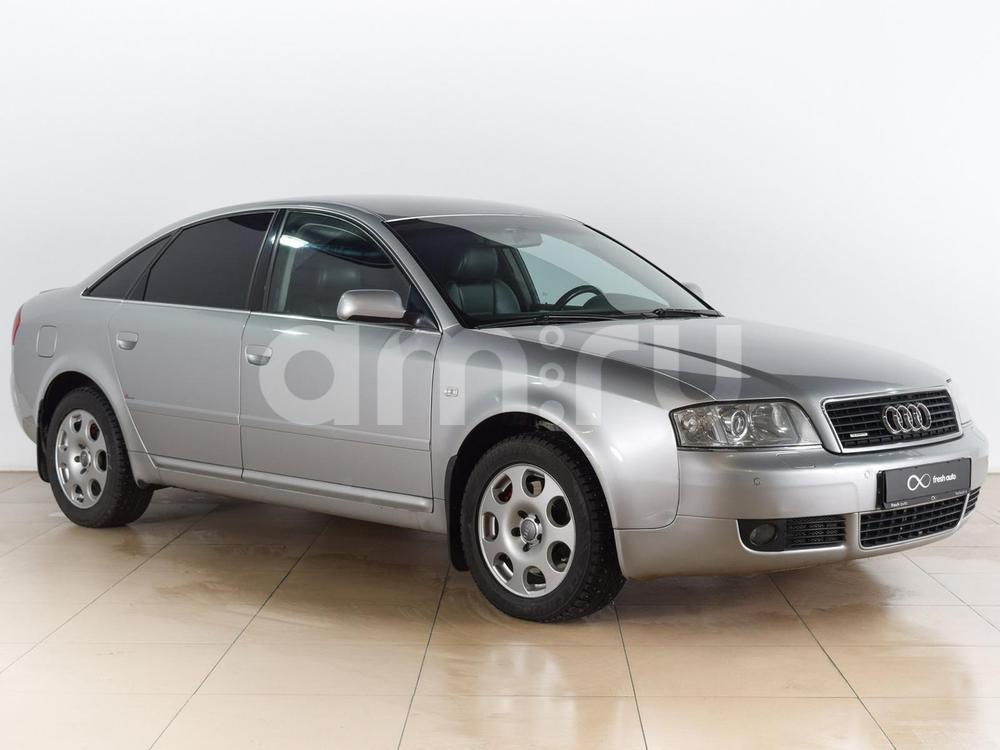 Audi A6 с пробегом, серебряный , отличное состояние, 2003 года выпуска, цена 430 000 руб. в автосалоне  ()