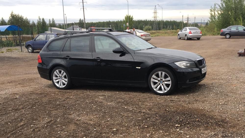 Подержанный BMW 3 серия, хорошее состояние, черный , 2007 года выпуска, цена 630 000 руб. в республике Татарстане