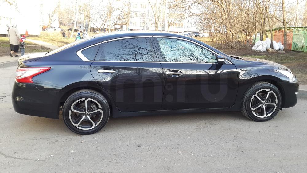 Подержанный Nissan Teana, отличное состояние, черный , 2014 года выпуска, цена 1 170 000 руб. в республике Татарстане