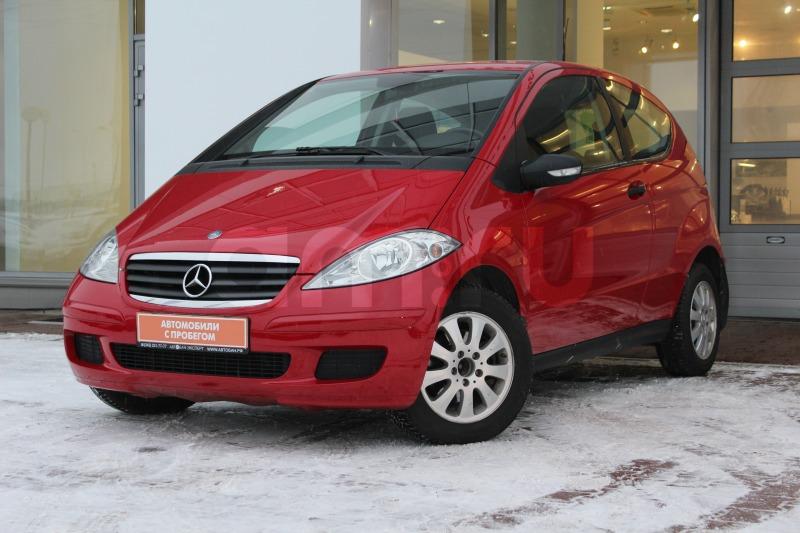 Mercedes-Benz A-Класс с пробегом, красный , отличное состояние, 2005 года выпуска, цена 359 000 руб. в автосалоне Автобан-Запад (Екатеринбург, ул. Металлургов, д. 67)