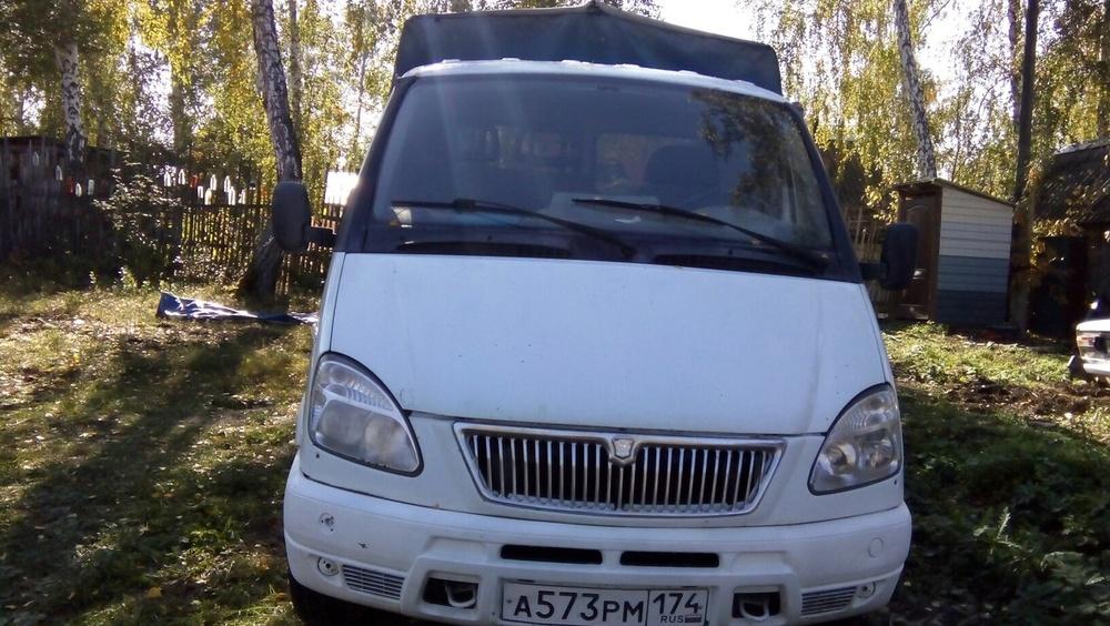 Подержанный ГАЗ Газель, среднее состояние, белый , 2004 года выпуска, цена 180 000 руб. в Челябинской области
