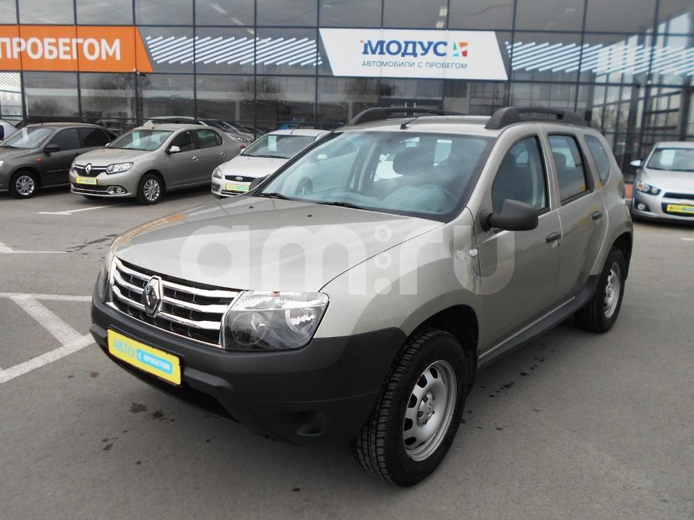 Renault Duster с пробегом, бежевый , отличное состояние, 2012 года выпуска, цена 520 000 руб. в автосалоне  ()