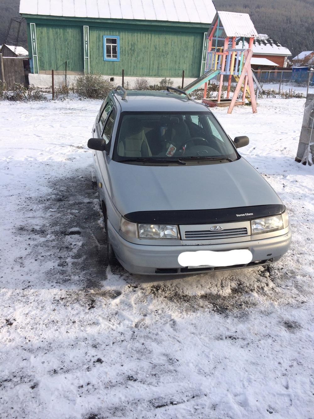 Подержанный ВАЗ (Lada) 2111, хорошее состояние, серебряный металлик, 2007 года выпуска, цена 155 000 руб. в Челябинской области