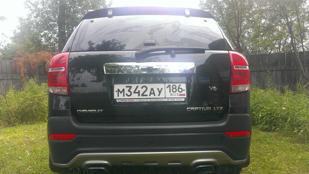 Подержанный Chevrolet Captiva, отличное состояние, черный перламутр, 2014 года выпуска, цена 1 300 000 руб. в ао. Ханты-Мансийском Автономном округе - Югре