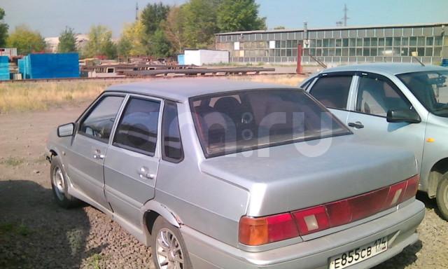 Подержанный ВАЗ (Lada) 2115, хорошее состояние, серебряный металлик, 2005 года выпуска, цена 70 000 руб. в Челябинской области